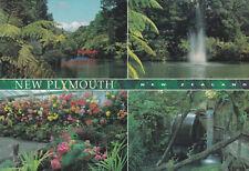 Ansichtskarte: 4 Ansichten von New Plymouth, Neuseeland