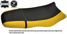 BLACK & YELLOW CUSTOM FITS SEA DOO GSX GS RFI 96-04 VINYL SEAT COVER + STRAP