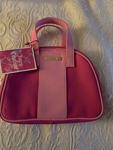 Brand New Juicy Couture Bright Pink Vanity Case Cosmetics Make-up Bag