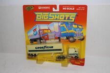 ROAD CHAMPS BIG SHOTS DIECAST #7372 KENWORTH TRACTOR, GOODYEAR TRAILER, HO/1:87