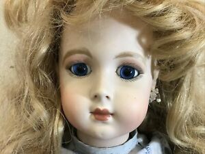 """Yvonne Griffith REPRODUCTION Antique French Jumeau Doll 28""""  Seeley Body"""