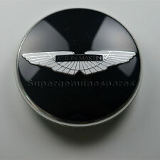 Genuine Aston Martin V8 Rapide Virage Black Wheel Center Cap Brand New (1PC)