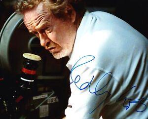 Ridley Scott Signed 10X8 Photo Iconic Director AFTAL COA (A)