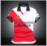 BAPALU Men's Polo Classic Casual Shirts Fashion Short Sleeve T-Shirt 100% Cotton