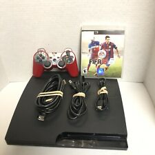 Sony Playstation 3 PS3 320gb Slim CECH-3001B Console Bundle W/controller, Game
