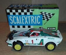 4063 4064 mejorado Lancia Stratos AlItalia #1 Scalextric SCX Exin Triang Ninco