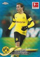 Voetbal Verzamelkaarten: sport 2018-19 Topps Chrome Bundesliga Base Common Blue Wave Parallel /99 #19 - #36