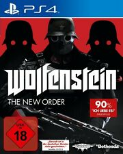 PS4 / Sony Playstation 4 Spiel - Wolfenstein: The New Order (DEUTSCH) (mit OVP)