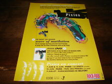 4AD - PIXIES - PUBLICITE / ADVERT CHANGED EVERYTHING !!