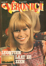 VERONICA 1977 nr. 17 - EVA PERRON / LINDA RONSTADT / LEONTIEN CEULEMANS / TOP 40