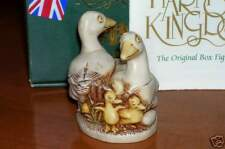 Harmony Kingdom Lords of the Lake White Geese Uk Made Box Figurine