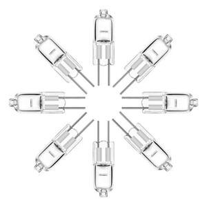 100x G4 Halogen Capsule Light Bulbs Replace LED Lamp 12V 5W-50W Energy Saving