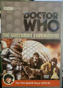 DR WHO THE SONTARAN EXPERIMENT