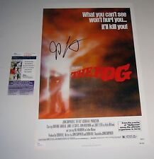 Director John Carpenter Signed The Fog 11x17 Mini Poster Proof JSA FREE SHIPPING
