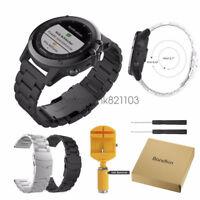 Cinturino Acciaio Inox Bracelet Watch Band Strap Per Garmin Fenix 3 / HR / 5X