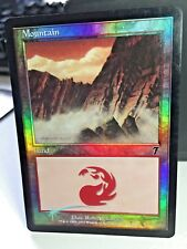 Mountain 339/350 Foil Land MTG 7th Edition Magic The Gathering Light Play/EX