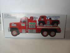 HESS 2015 Fire Truck and Ladder Rescue - Lights & Sound Never been out of box