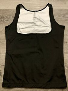 CIMKIZ Women's Hot Sweat Vest Neoprene Sauna Vest Black Size XL Lose Weight