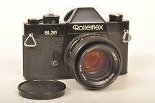 Rollei sl35 Black/Miroir Reflex avec THF Planar 1,8 x 50 mm/GERMANY
