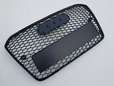 Gloss black honeycomb grille grill for Audi A5 B8 8T S5 RS5 2012-2016 RS