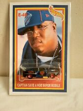 E-40 Captian save a hoe super mobile Custom hip hop hot wheels! Street culture