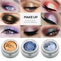 14Farbe Single Glitter Lidschatten Highlight Creme Pigment Glitter Augen Make-up