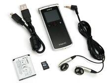 Sanyo Xacti ICR-XPS01M Digital Voice Recorder, 2 GB, TouchScreen, FM Radio, NEW