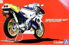 Aoshima Honda NSR 250R SP with Custom Parts Ref 005439 Escala 1:12