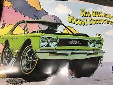 CHRYSLER 440 MOPAR GTX CAR RACING ADVERTISING POSTER ~ L@@K ~ Muscle Car 24 X 36