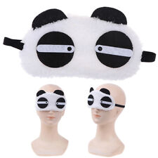 Cute Panda Sleeping Face Eye Mask Blindfold Shade Travel Sleep Cover Light WhiDS