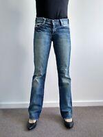 Mavi Womens Jamie Straight Leg Blue denim Jeans 28 L32 AU 10