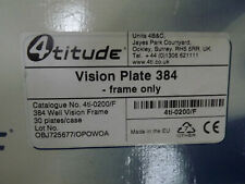 4titude 4TI-200/F VISION PLATE 384 FRAME ONLY FOR ASSAY PLATE  30 PER BOX