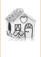 PANDORA Schmuck Silber Charm Familienhaus oder Haus der Familie Neu ALE