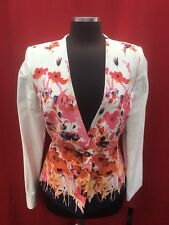 TAHARI BY ARTHUR LEVINE BLAZER/COTTON/LINED/RETAIL$129/SIZE 16/NEW WITH TAG
