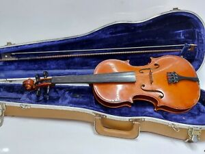 Scherl & Roth 4/4 Violin Model 30 with Bow and Hard Shell Case