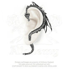 E274 Dragon's Lure Ear Wrap/Earing - Gothic - Right or Left -Fine English Pewter