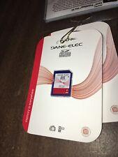 NEW! DANE-ELEC 8GB SDHC Memory Card for Digital Cameras (Class 4, up to 4 MB/s)