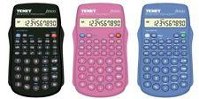 Texet FX-500 Scientific Calculator School 10 Digit Display Black Blue or Pink