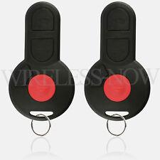 2 Car Key Fob Keyless Remote For 1998 1999 2000 2001 2002 Volkswagen VW Jetta