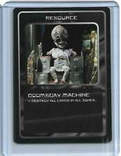 Doctor Who - CCG Card Game Ultra Rare Card Doomsday Machine MMG - 1996