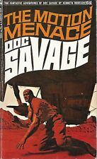 DOC SAVAGE #64: THE MOTION MENACE  by Kenneth Robeson - 1st Paperback Printing