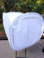 "Light Tent Foldable Photo Studio Soft Kit Cube With 4 Backdrops 24"" (60cm)"