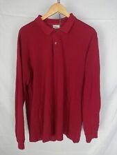 LACOSTE Polo Maniche Lunghe Maglia T-Shirt Tg 6 Uomo Man