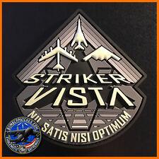 STRIKER VISTA B-1 B-2 B-52 PROGRAM PATCH, AFGSC BARKSDALE AFB, GLOW IN THE DARK