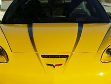 C6 Corvette 2005-2013 Hood Graphic Fade Decal - 2-Piece Kit