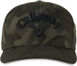 *NEW* Callaway Golf 2021 Camo Flexfit Snapback Adjustable Cap Hat