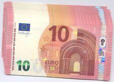 """10 EURO """"DRAGHI"""" NUOVA SERIE EUROPA """"S""""  - ITALIA FDS/UNC"""