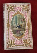 1861 Vie St Louis de Gonzague cartonnage romantique lithographie aquarellée