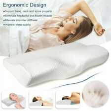 Adult Memory Foam Pillow Orthopaedic Bedroom Sleep Head Neck Back Support
