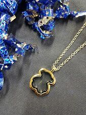Silver Teddy Bear Locket Necklace & Chain for Floating Charms - US Seller